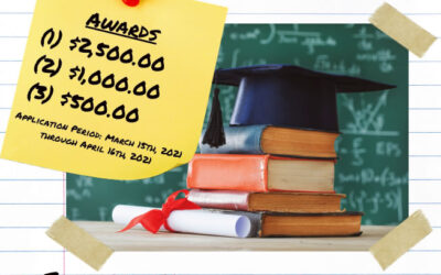 Scholarship Application period begins March 15, ends April 16, 2021